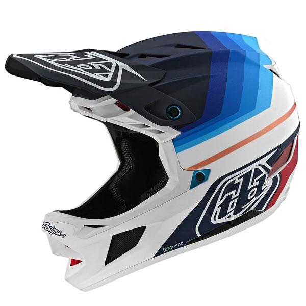 Troy Lee Designs トロイリーデザイン D4 Carbon Mirage Helmet w/ MIPS 自転車用ヘルメット ダウンヒル MTB XC BMX マウンテンバイク ロード クロスカントリー おすすめ (AMACLUB)
