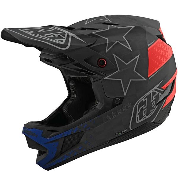 Troy Lee Designs トロイリーデザイン D4 Carbon Freedom 2.0 Helmet w/ MIPS 自転車用ヘルメット ダウンヒル MTB XC BMX マウンテンバイク ロード クロスカントリー おすすめ (AMACLUB)