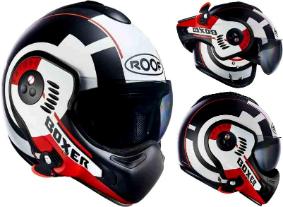 【フィリップアップ】Roof ルーフ Boxer V8 Target Mat ヘルメットライダー バイク ツーリングにも かっこいい アウトレット (AMACLUB)