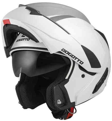 \5/5★キャッシュレス実質9%引/【フィリップアップ】Bogotto ボガットV280 フルフェイスヘルメット フリップアップヘルメット サンバイザー バイク ツーリングにも かっこいい おすすめ (AMACLUB)