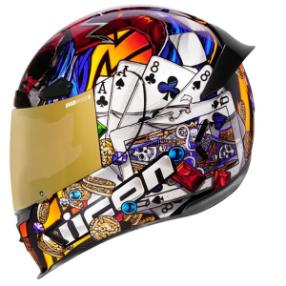 \5/5★キャッシュレス実質9%引/Icon アイコン Airframe Pro Luckylid3 Helmet フルフェイスヘルメット ライダー バイク ツーリングにも かっこいい おすすめ (AMACLUB)