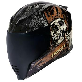 \5/5★キャッシュレス実質9%引/Icon アイコン Airflite Uncle Dave Helmet フルフェイスヘルメット ライダー バイク ツーリングにも かっこいい おすすめ (AMACLUB)