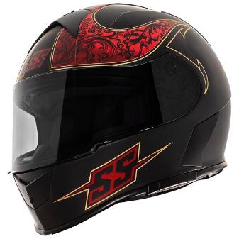 \5/5★キャッシュレス実質9%引/Speed and Strength スピード&ストレングス SS900 Scrolls Helmetライダー バイク ツーリングにも かっこいい おすすめ (AMACLUB)