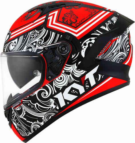 KYT NF-R Steel Flower フルフェイスヘルメット 内部サンバイザー ライダー バイク ツーリングにも かっこいい おすすめ (AMACLUB)