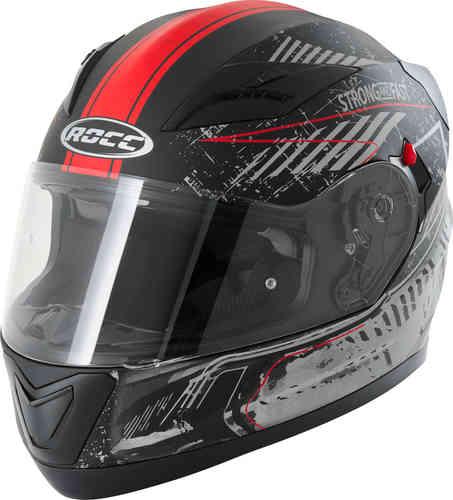 \5/5★キャッシュレス実質9%引/Rocc ロック 415 Dekor フルフェイスヘルメット ライダー バイク ツーリングにも かっこいい おすすめ (AMACLUB)