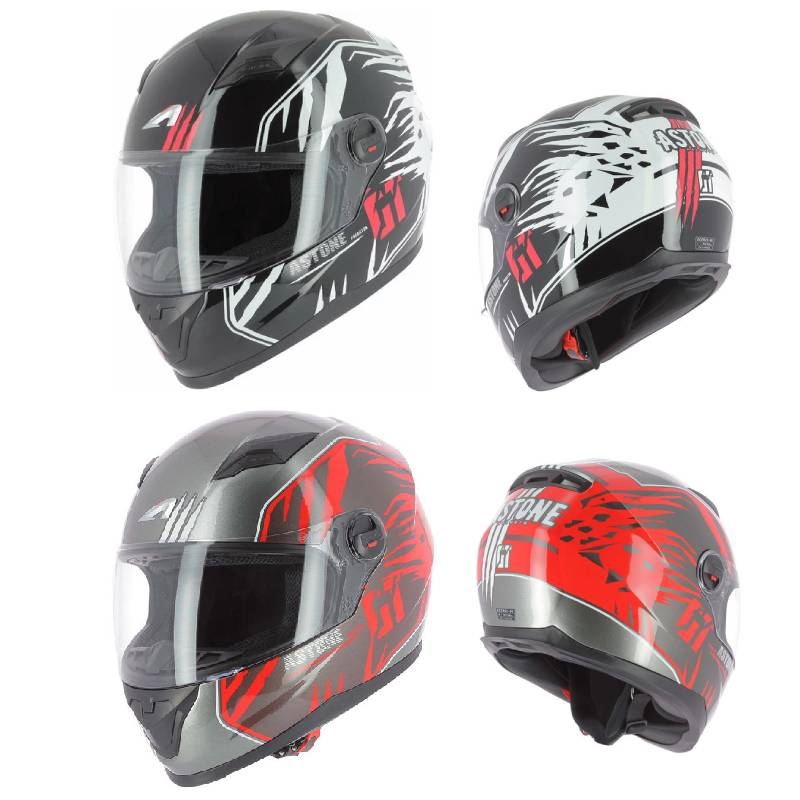 ヘルメットを「当店しか扱っていないモデル」も含め販売中! Astone アストーン GT2 Predator フルフェイスヘルメット サンバイザー ライダー バイク ツーリングにも かっこいい おすすめ (AMACLUB)