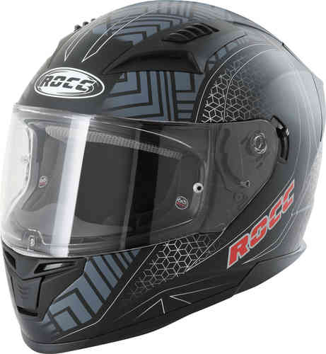 \5/5★キャッシュレス実質9%引/Rocc ロック 332 Dekor フルフェイスヘルメット ライダー バイク ツーリングにも かっこいい おすすめ (AMACLUB)