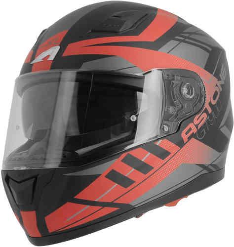 \5/5★キャッシュレス実質9%引/Astone アストーン GT900 Street フルフェイスヘルメット サンバイザー ライダー バイク ツーリングにも かっこいい おすすめ (AMACLUB)