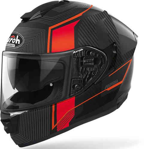\5/5★キャッシュレス実質9%引/Airoh アイロー ST 501 Alpha フルフェイスヘルメット インナーサンバイザー ライダー バイク ツーリングにも かっこいい おすすめ (AMACLUB)