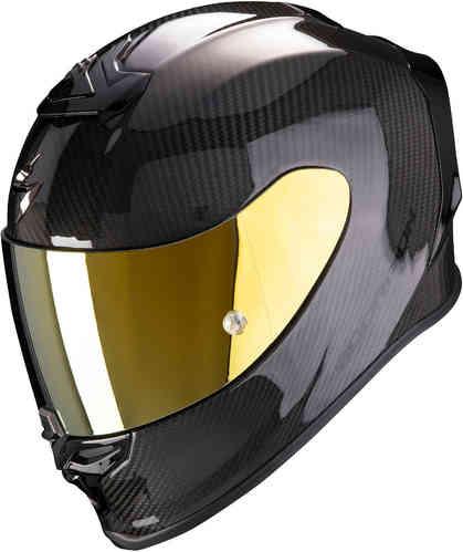 Scorpion スコーピオン EXO R1 Carbon Air Solid ヘルメットライダー バイク ツーリングにも かっこいい おすすめ (AMACLUB)
