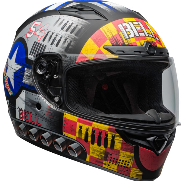 \5/5★キャッシュレス実質9%引/【3XLまで】BELL ベル QUALIFIER DLX MIPS DEVIL MAY CARE HELMET フルフェイスヘルメット バイク かっこいい 大きいサイズあり おすすめ (AMACLUB)