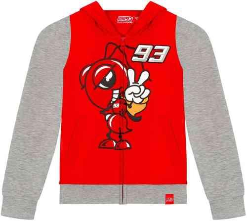 \5/5★キャッシュレス実質9%引/【子供用】GP Racing 93 Cartoon Ant Contrast Sleeves キッズ フ-ディ ライダー バイク ツーリングにも かっこいい アウトレット (AMACLUB)
