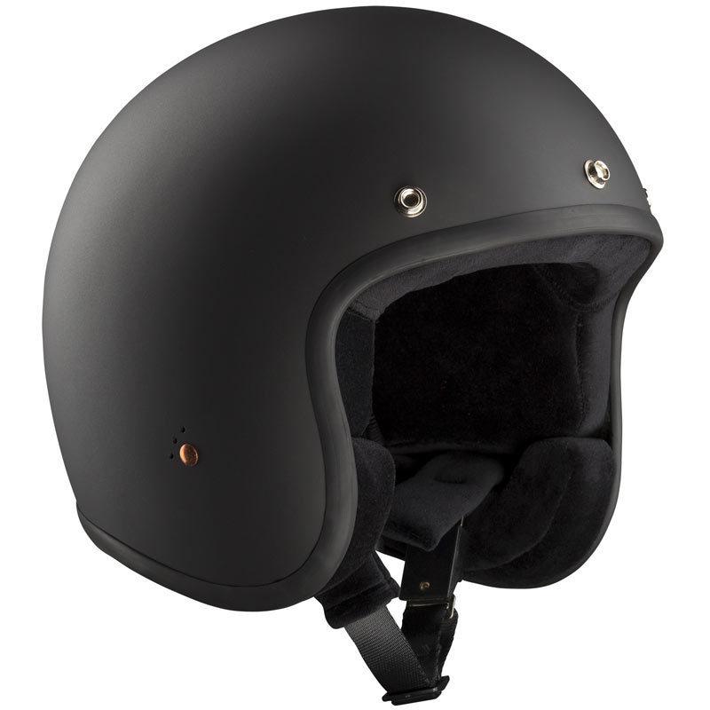 \5/5★キャッシュレス実質9%引/Bandit バンディット ECE Jet 2 Black Matt Jet Helmet ジェットヘルメット オープンフェイスヘルメット バイク ツーリングにも かっこいい おすすめ (AMACLUB)