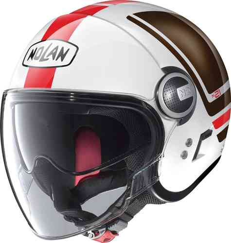 高度な設計技術で定評がありイタリアNo.1シェアを誇る老舗メーカー 「NOLAN」 (ノーラン)のヘルメットを「当店しか扱っていないモデル」も含め販売中! 1200円off~2/29Nolan ノーラン N21 Visor Flybridge ジェットヘルメット オープンフェイスヘルメット サンバイザー ライダー バイク ツーリングにも かっこいい おすすめ (AMACLUB)