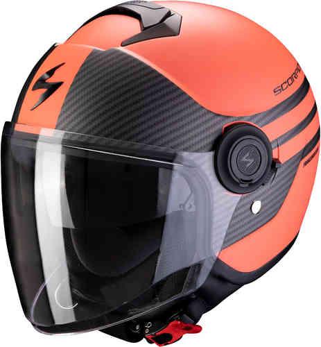 \5/5★キャッシュレス実質9%引/Scorpion スコーピオン Exo City Moda ジェットヘルメット サンバイザー ライダー バイク ツーリングにも かっこいい おすすめ (AMACLUB)