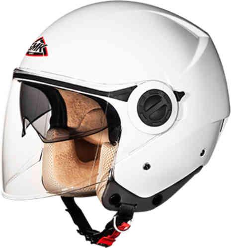 \5/5★キャッシュレス実質9%引/SMK クーパー ジェットヘルメット オープンフェイスヘルメット サンバイザー ライダー バイク ツーリングにも かっこいい おすすめ (AMACLUB)