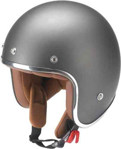 \5/5★キャッシュレス実質9%引/Redbike レッドバイク RB-756 Titanium ジェットヘルメット オープンフェイスヘルメット ヘルメット ライダー バイク ツーリングにも かっこいい おすすめ (AMACLUB)