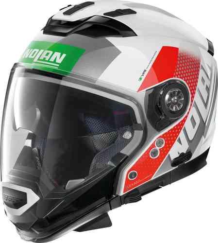 \5/5★キャッシュレス実質9%引/【XXS~】Nolan ノーラン N70-2 GT Celeres N-Com ジェットヘルメット オープンフェイスヘルメット サンバイザー バイク かっこいい 小さいサイズあり(AMACLUB)