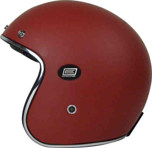 \5/5★キャッシュレス実質9%引/Origine オリジネ Sirio ジェットヘルメット サンバイザー ライダー バイク ツーリングにも かっこいい マットレッド おすすめ (AMACLUB)