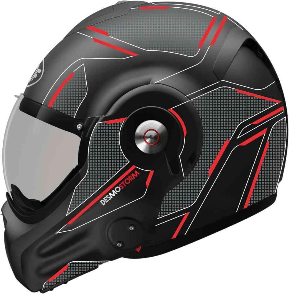 \5/5★キャッシュレス実質9%引/Roof ルーフ Desmo Storm フルフェイスヘルメット ライダー バイク ツーリングにも かっこいい おすすめ (AMACLUB)