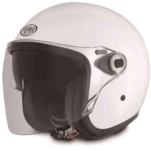 \5/5★キャッシュレス実質9%引/Premier プレミア Vangarde Mono ジェットヘルメット オープンフェイスヘルメット サンバイザー ライダー バイク ツーリングにも かっこいい おすすめ (AMACLUB)