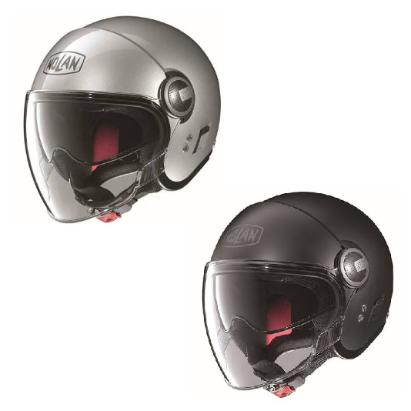 \5/5★キャッシュレス実質9%引/NOLAN ノーラン N21 SOLID HELMET WITH VISOR フルフェイスヘルメット シールド付オフロード ジェットヘルメット デュアルスポーツ バイク おすすめ (AMACLUB)