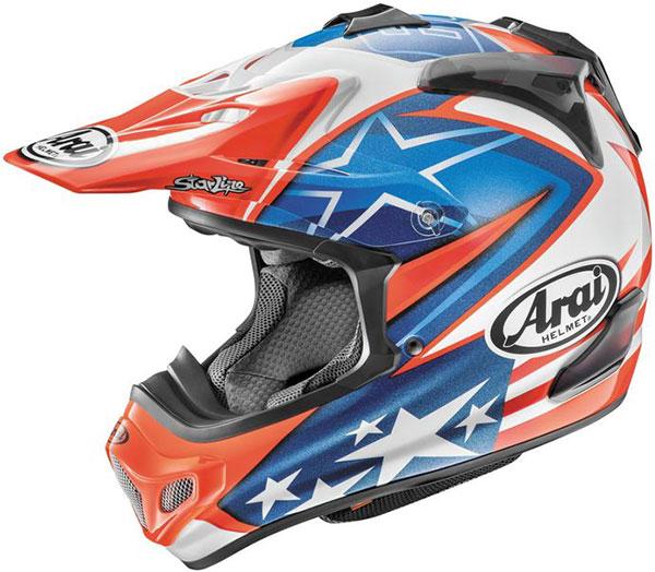 \5/5★キャッシュレス実質9%引/Arai アライ VX-Pro4 Nicky Hayden 7 Helmet モトクロスヘルメット オフロードヘルメット ライダー バイク ツーリングにも かっこいい おすすめ (AMACLUB)