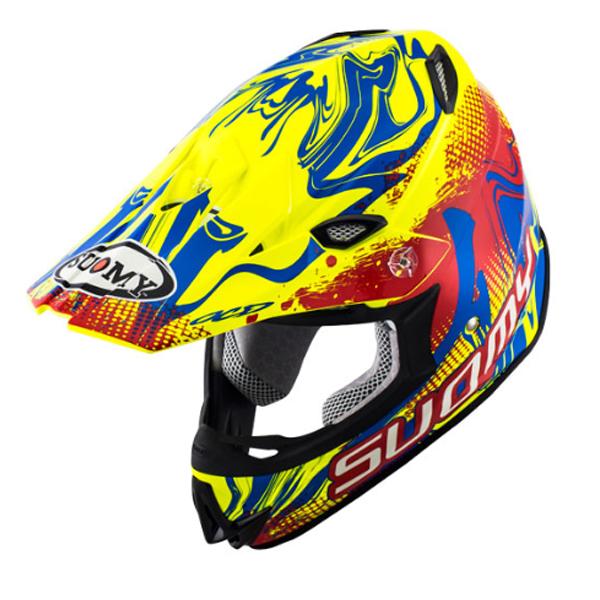 \5/5★キャッシュレス実質9%引/Suomy スオーミー MX Jump Graffiti Helmet モトクロスヘルメット オフロードヘルメット ライダー バイク ツーリングにも かっこいい おすすめ (AMACLUB)