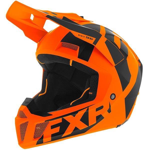 \5/5★キャッシュレス実質9%引/FXR Racing Clutch CX Helmet オフロードヘルメット モトクロスヘルメット ライダー バイク ツーリングにも かっこいい おすすめ (AMACLUB)