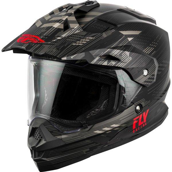 \5/5★キャッシュレス実質9%引/Fly Racing フライ Trekker Quantum Helmet オフロードヘルメット モトクロスヘルメット ライダー バイク ツーリングにも かっこいい おすすめ (AMACLUB)