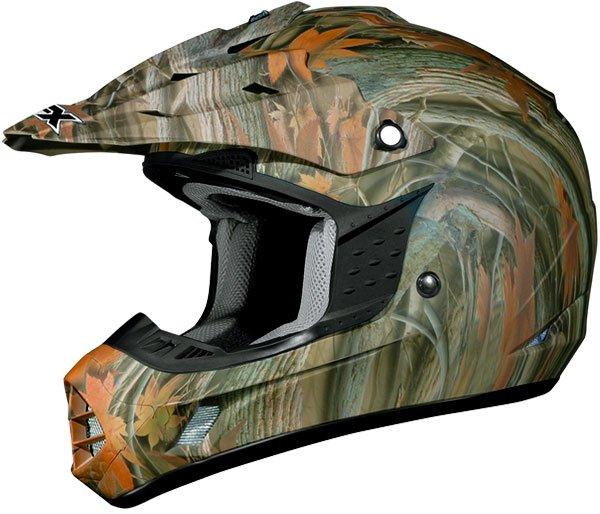 \5/5★キャッシュレス実質9%引/AFX エーエフエックス FX-17 Camo Helmet オフロードヘルメット モトクロスヘルメット ライダー バイク ツーリングにも かっこいい おすすめ (AMACLUB)