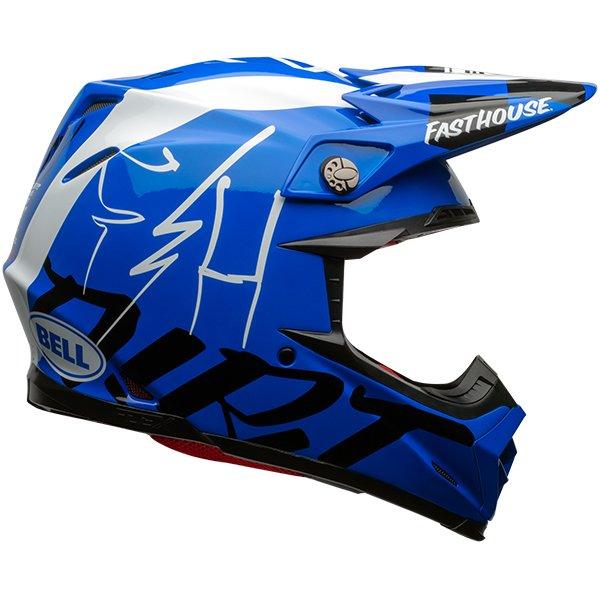 BELL ベル MOTO-9 FLEX FASTHOUSE DITD 20 オフロードヘルメット モトクロスヘルメット ライダー バイク ツーリングにも かっこいい おすすめ (AMACLUB)