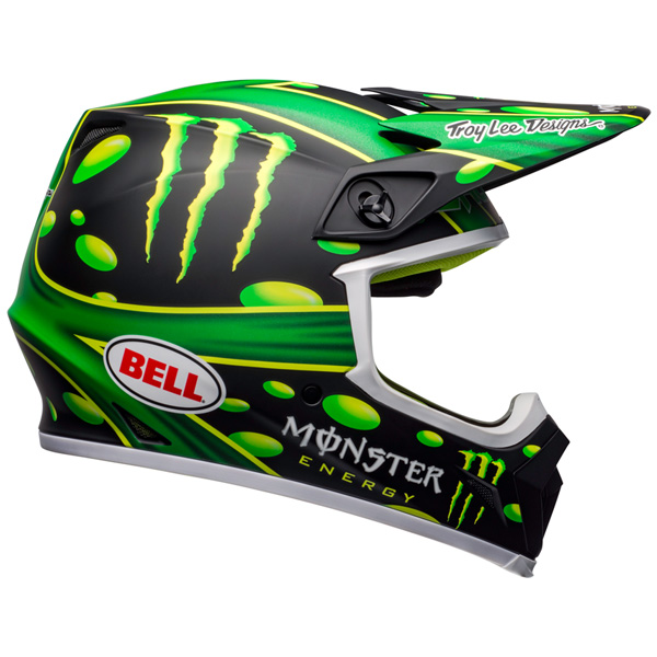 BELL ベル MX-9 MIPS MCGRATH SHOWTIME REPLICA HELMET オフロードヘルメット モトクロスヘルメット ライダー バイク ツーリングにも かっこいい おすすめ (AMACLUB)