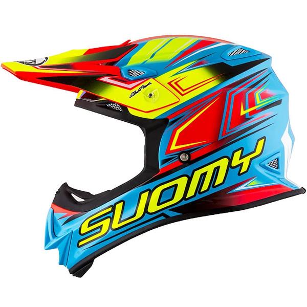 SUOMY スオーミー MX JUMP START HELMET オフロードヘルメット モトクロスヘルメット ライダー バイク ツーリングにも かっこいい おすすめ (AMACLUB)