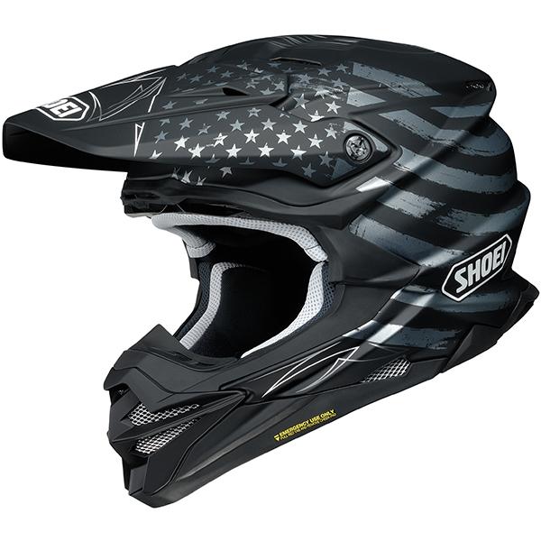 SHOEI ショウエイ VFX-EVO FAITHFUL HELMET オフロードヘルメット モトクロスヘルメット ライダー バイク ツーリングにも かっこいい おすすめ (AMACLUB)