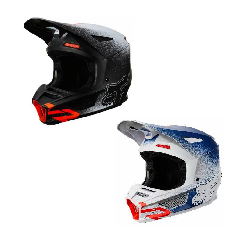 FOX RACING フォックス V2 BNKZ SE HELMET オフロードヘルメット モトクロスヘルメット ライダー バイク ツーリングにも かっこいい おすすめ (AMACLUB)