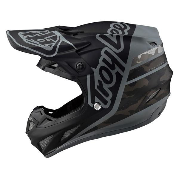 TROY LEE DESIGNS トロイリーデザイン SE4 COMPOSITE SILHOUETTE HELMET オフロードヘルメット モトクロスヘルメット ライダー バイク ツーリングにも かっこいい おすすめ (AMACLUB)