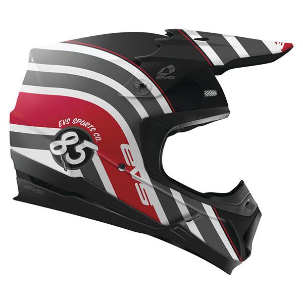 EVS イーブイエス T5 COSMIC HELMET オフロードヘルメット モトクロスヘルメット ライダー バイク ツーリングにも かっこいい おすすめ (AMACLUB)