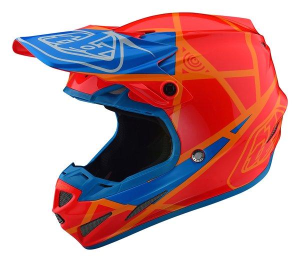 TROY LEE DESIGNS トロイリーデザイン 2018 SE4 COMPOSITE METRIC HELMET オフロードヘルメット モトクロスヘルメット ライダー バイク ツーリングにも かっこいい おすすめ (AMACLUB)