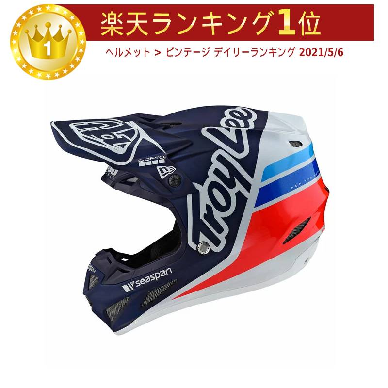 TROY LEE DESIGNS トロイリーデザイン SE4 COMPOSITE SILHOUETTE TEAM HELMET オフロードヘルメット モトクロスヘルメット ライダー バイク ツーリングにも かっこいい おすすめ (AMACLUB)