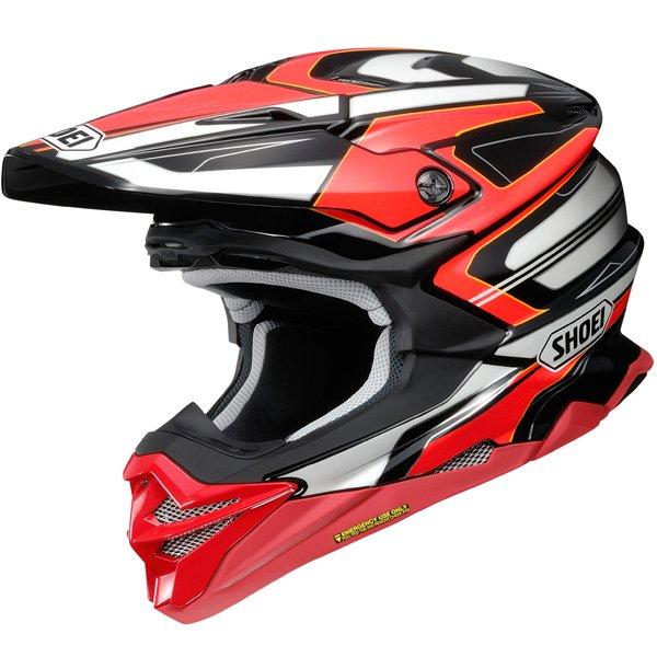 SHOEI VFX EVO BRAYTON HELMET オフロードヘルメット モトクロスヘルメット ライダー バイク ツーリングにも かっこいい おすすめ (AMACLUB)