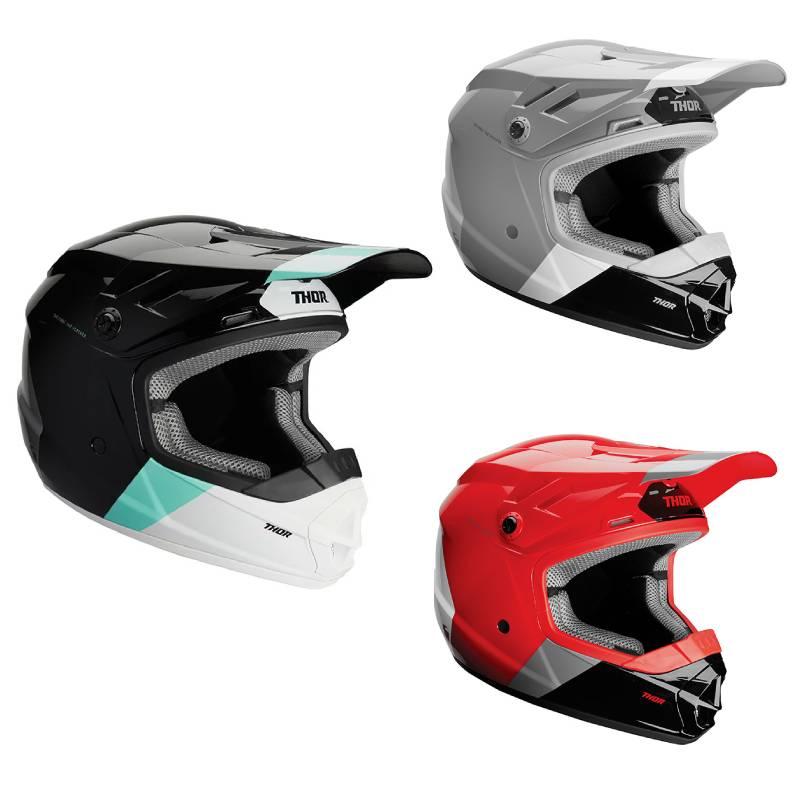 【子供用】THOR ソアー SECTOR BOMBER MIPS HELMET (YOUTH) 子供用 モトクロス オフロードヘルメット ライダー バイクかっこいい おすすめ (AMACLUB)
