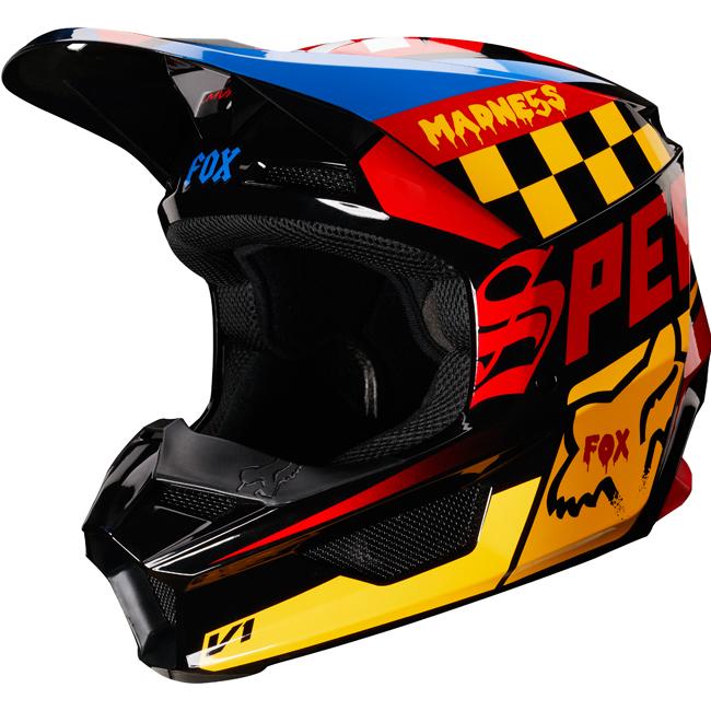【子供用】FOX RACING フォックス 2019 V1 CZAR HELMET (YOUTH) 子供用 モトクロス オフロードヘルメット ライダー バイク かっこいい おすすめ (AMACLUB)
