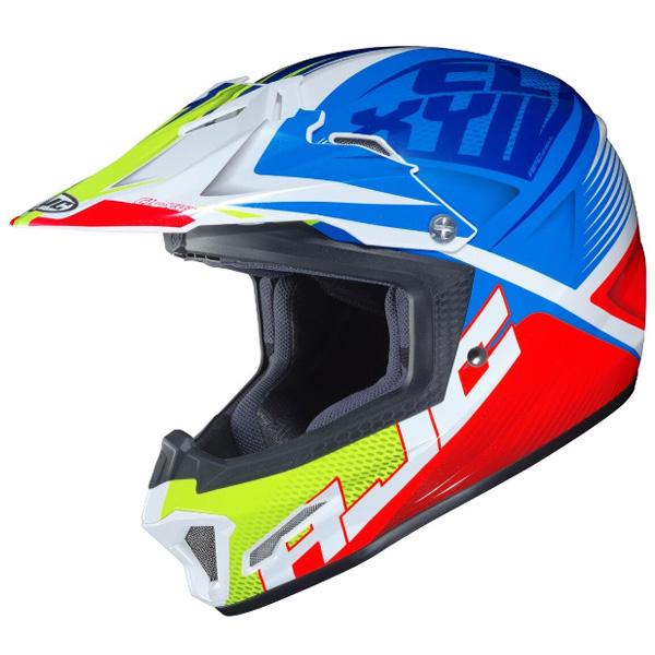 【子供用】HJC エイチジェイシー CL-XY 2 ELLUSION HELMET (YOUTH) 子供用 モトクロス オフロードヘルメット ライダー バイク かっこいい おすすめ (AMACLUB)