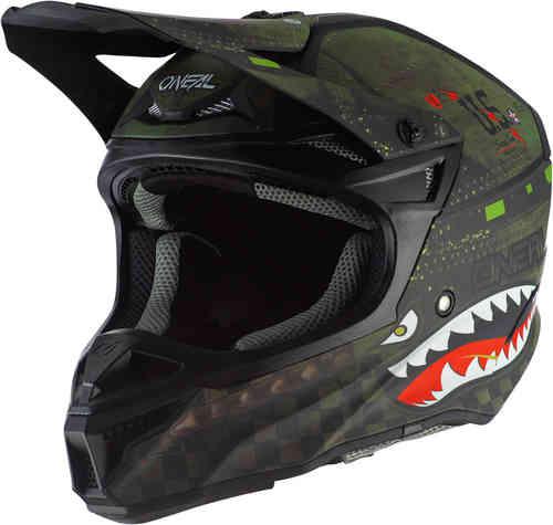 \5/5★キャッシュレス実質9%引/Oneal オニール 5 Series Polyacrylite Warhawk モトクロスヘルメット オフロードヘルメット ライダー バイク ツーリングにも かっこいい おすすめ (AMACLUB)
