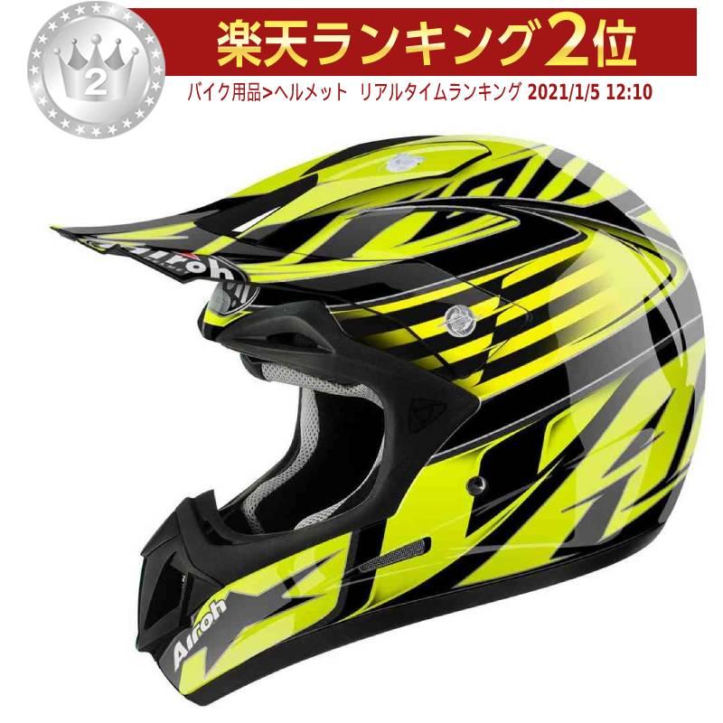 Airoh アイロー Jumper Assault モトクロスヘルメット オフロードヘルメット ライダー バイク かっこいい おすすめ (AMACLUB)
