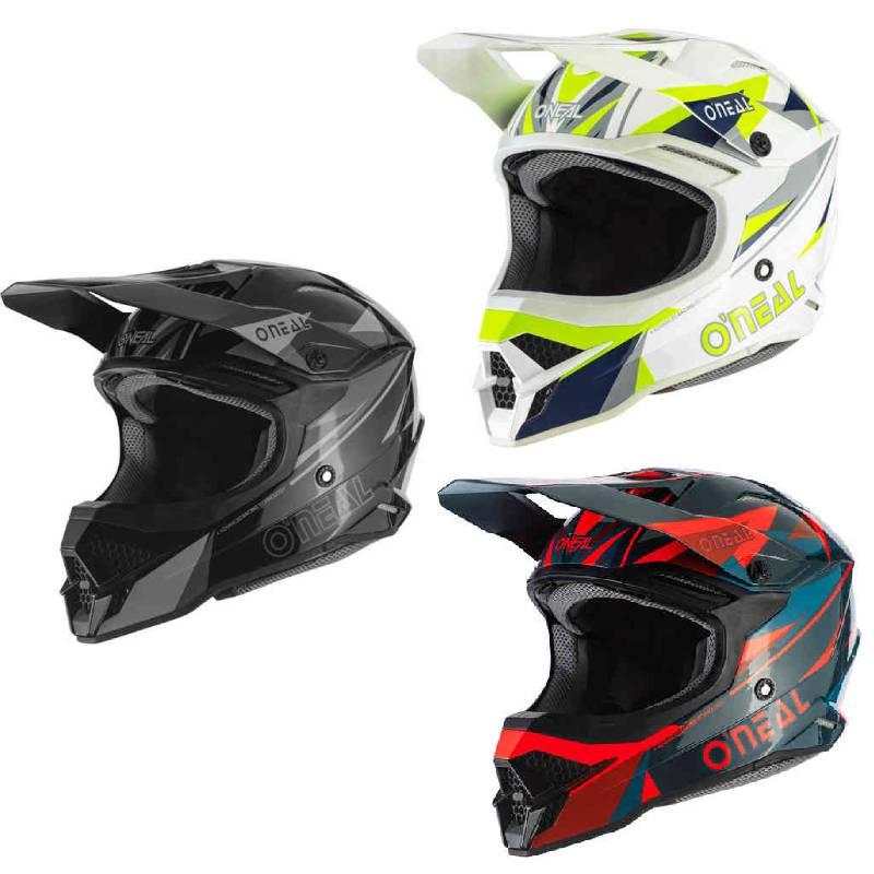 \5/5★キャッシュレス実質9%引/Oneal オニール 3 Series Triz モトクロスヘルメット オフロードヘルメット ライダー バイク ツーリングにも かっこいい おすすめ (AMACLUB)