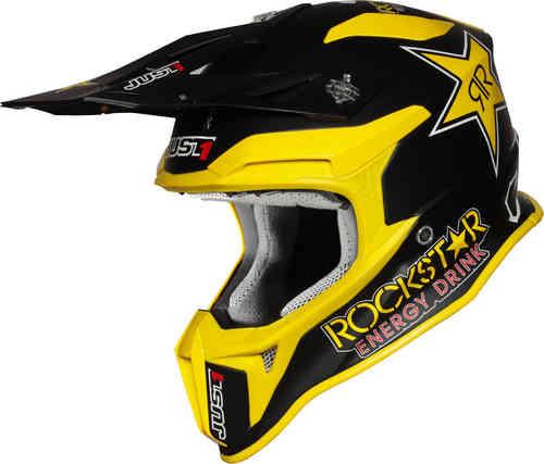 \5/5★キャッシュレス実質9%引/Just1 ジャストワン J18 Rockstar モトクロスヘルメット オフロードヘルメット ライダー バイク ツーリングにも かっこいい おすすめ (AMACLUB)
