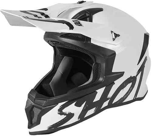 \5/5★キャッシュレス実質9%引/SHOT RACE GEAR ショットレースギア Lite Solid モトクロスヘルメット オフロードヘルメット ライダー バイク ツーリングにも かっこいい おすすめ (AMACLUB)