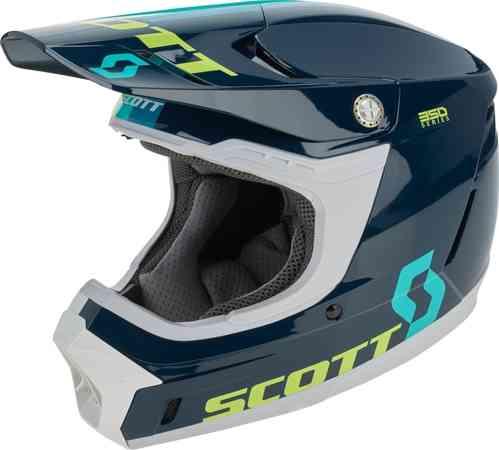 Scott スコット 350 Evo Plus Track モトクロスヘルメット オフロードヘルメット ライダー バイク ツーリングにも かっこいい おすすめ (AMACLUB)